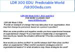 ldr 300 edu predictable world ldr300edu com 21