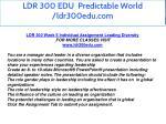 ldr 300 edu predictable world ldr300edu com 22