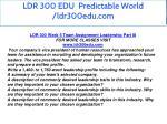 ldr 300 edu predictable world ldr300edu com 23