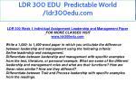 ldr 300 edu predictable world ldr300edu com 5