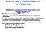 ldr 300 edu predictable world ldr300edu com 7