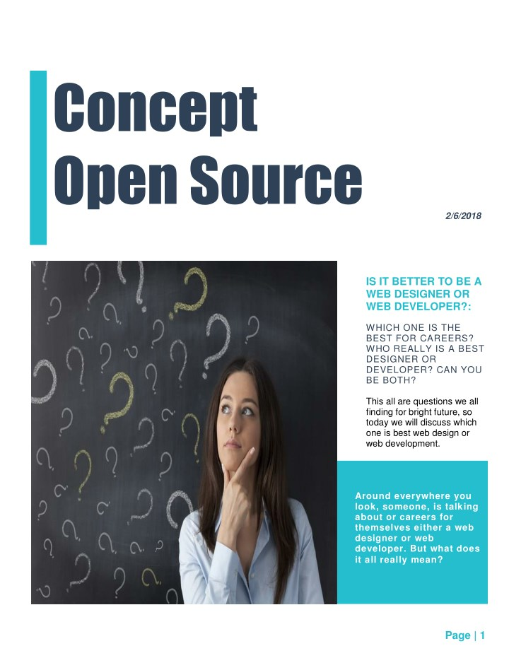 concept open source n.