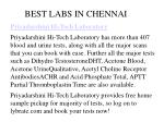 best labs in chennai