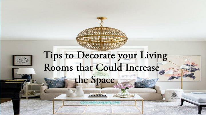 tips to decorate your living rooms that could n.