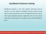 quickbooks enterprise hosting quickbooks