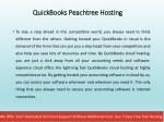 quickbooks peachtree hosting quickbooks peachtree