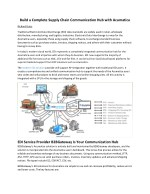 build a complete supply chain communication