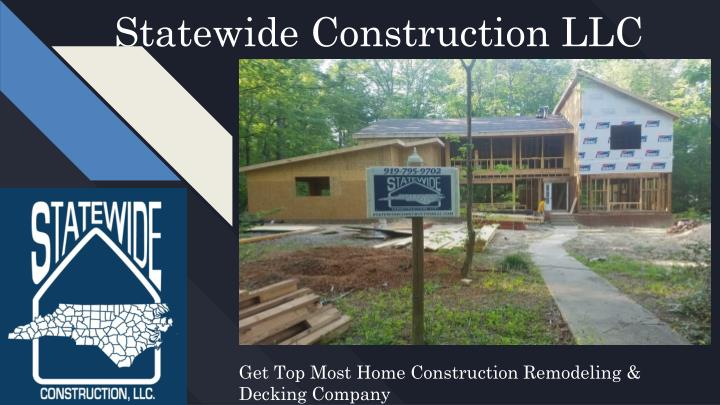 statewide construction llc n.