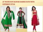 at wayscoop salwar kameez suits with different style 6