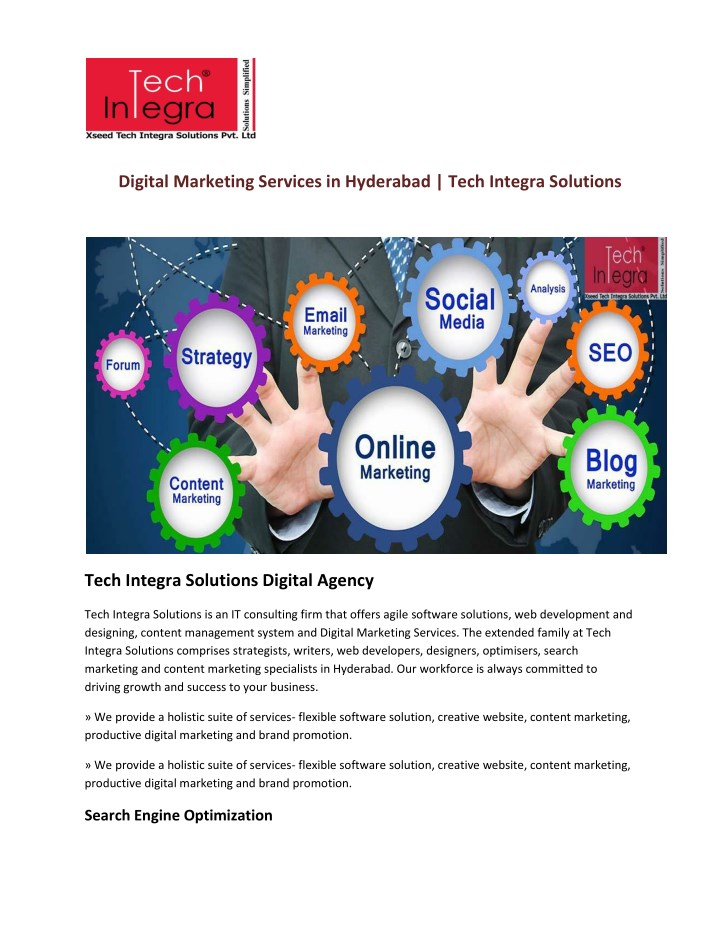 digital marketing services in hyderabad tech n.