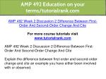 amp 492 education on your terms tutorialrank com 13