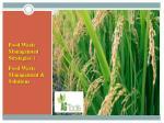 food waste management strategies food waste