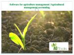 software for agriculture management agricultural management accounting