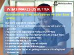 what makes us better