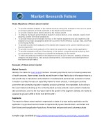 study objectives of neem extract market