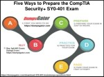 five ways to prepare the comptia security