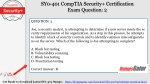 sy0 401 comptia security certification exam 1