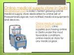 online medical supply store in delhi