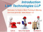 introduction liefr technologies llp