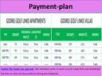p ayment plan