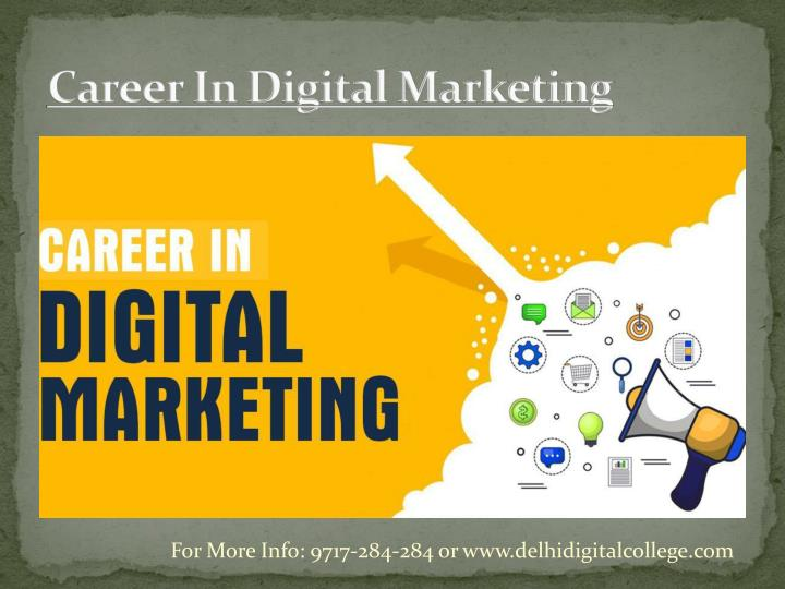 career in digital marketing n.