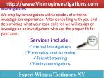 http www viceroyinvestigations com 2