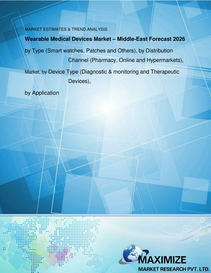 medical devices market middle east to 2026 n.