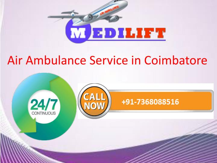 air ambulance service in coimbatore n.