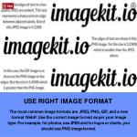 use right image format