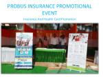 probus insurance promotional event