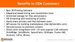 benefits to oem customers