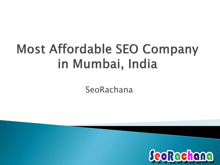 most affordable seo company in mumbai india n.