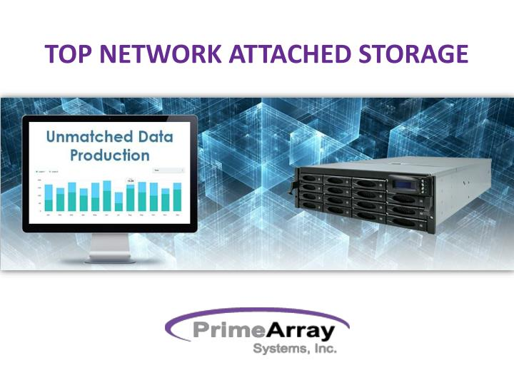 top network attached storage n.