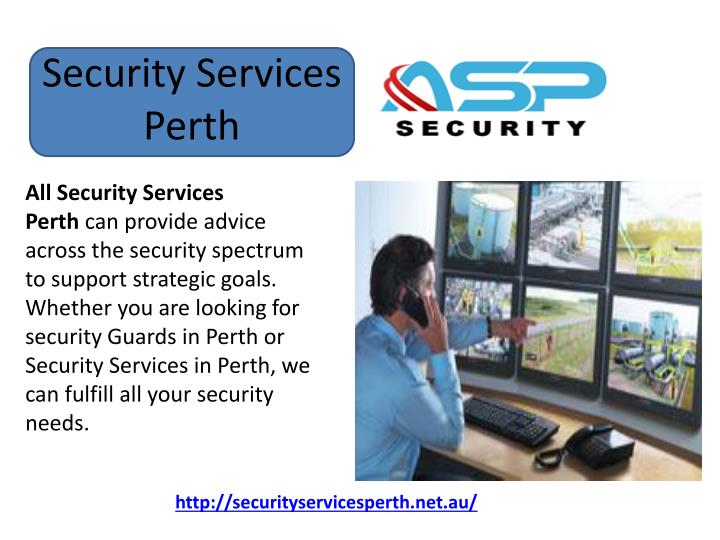 security services perth n.