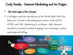 cody emsky internet marketing and its origin 3