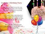 corks no 1 birthday party