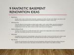 9 fantastic basement renovation ideas 1