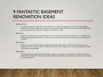 9 fantastic basement renovation ideas