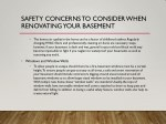 safety concerns to consider when renovating your 1