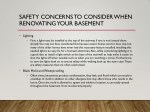 safety concerns to consider when renovating your