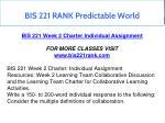 bis 221 rank predictable world 5