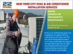 new york city hvac air conditioner installation 1