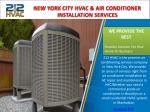new york city hvac air conditioner installation