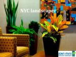 nyc landscaper