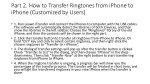 part 2 how to transfer ringtones from iphone