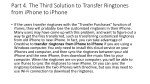 part 4 the third solution to transfer ringtones