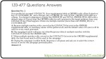 1z0 477 questions answers 1