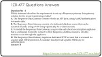 1z0 477 questions answers