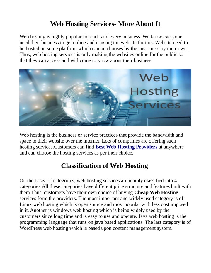 web hosting services more about it n.