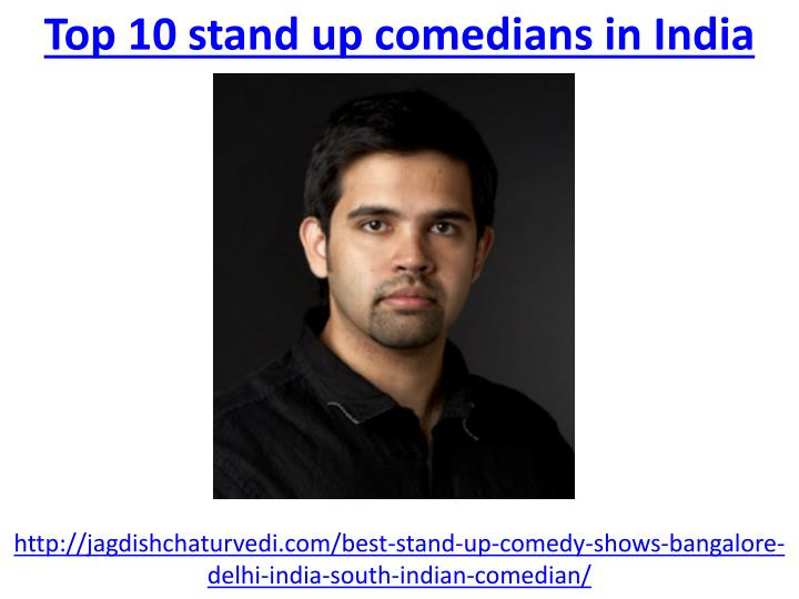 top 10 stand up comedians in india n.